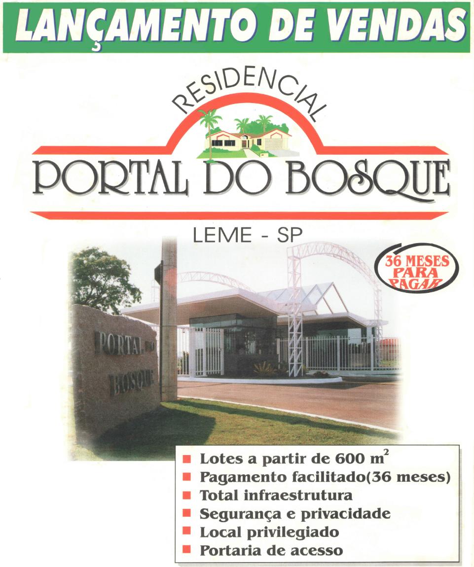 CLUBE DO BOSQUE PRONTO